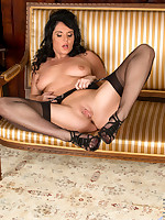 Anilos.com - Freshest mature women on the net featuring Anilos Leah milf thong