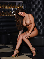 GEMMA MASSEY STRIPS NAKED FROM HER SEXY LINGERIE - ImGemmaMassey.com