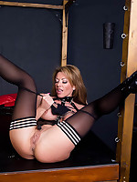 Lynda Leigh | Free Latex Pics | Sexy Fetish MILF In Latex Bodysuit And Thigh High Boots