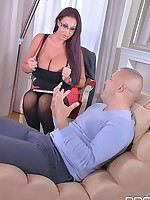 Big Tits And A Deep Throat: Cock Sucking Helps Horny Stud! free photos and videos on DDFBusty.com