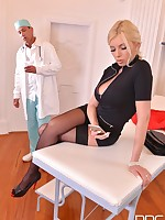 Unforeseen Examination - Horny Doc Penetrates Blonde Romanian Ba free photos and videos on DDFBusty.com
