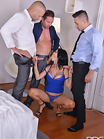 Foursome Bangarang - 3 Cocks To Suck, 3 Holes To Fill free photos and videos on DDFNetwork.com