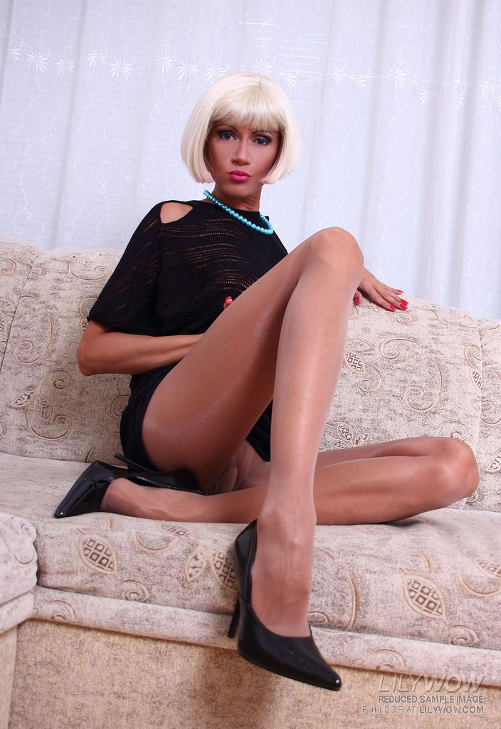 Ebony pantyhose galleries